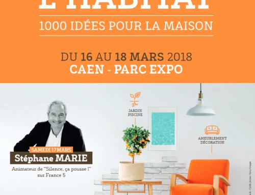 Atelier de Rodolphe présent au salon de l'habitat de Caen du 16 au 18 Mars 2018