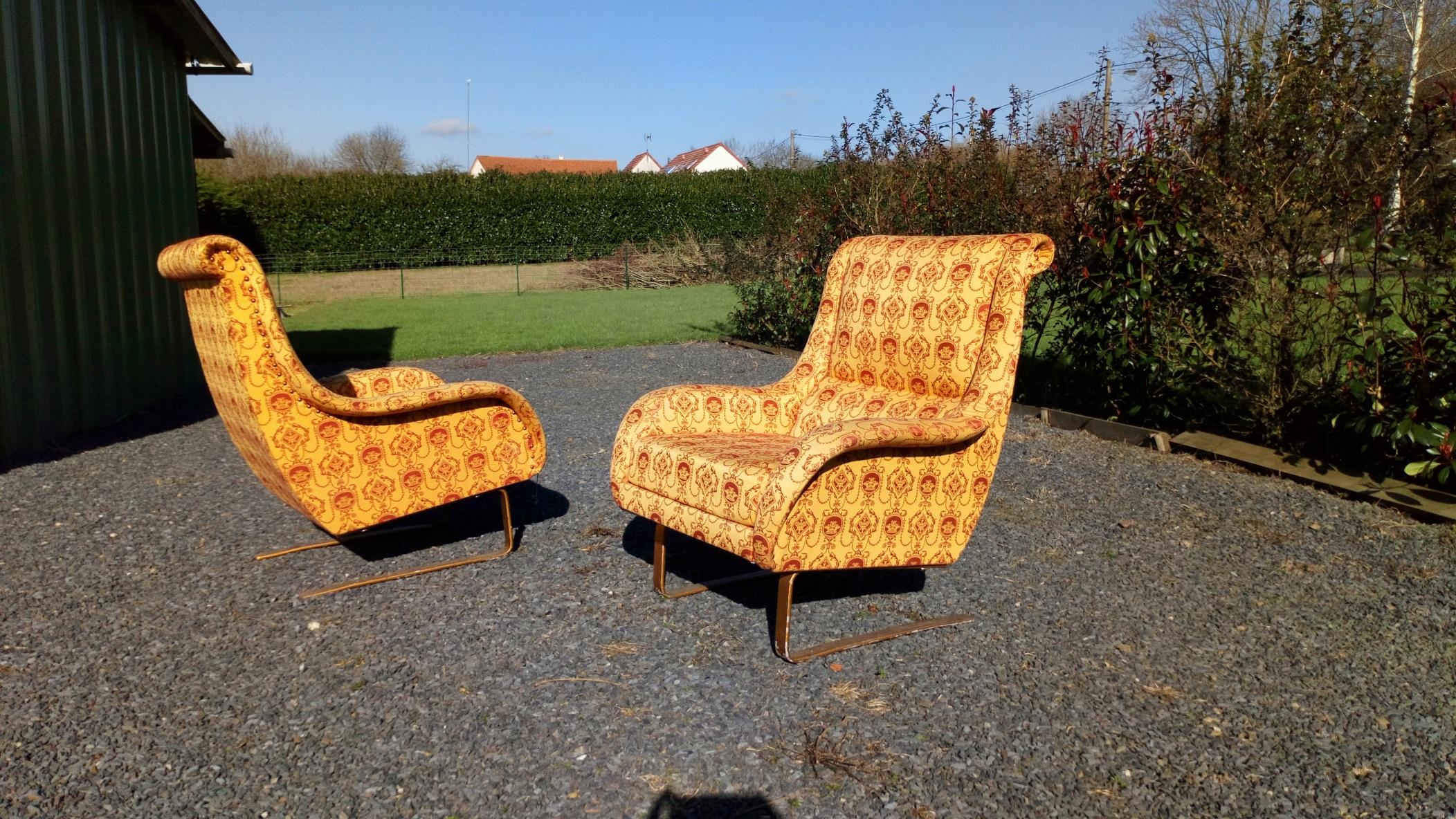 fauteuils 50 italien