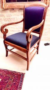 fauteuil restauration