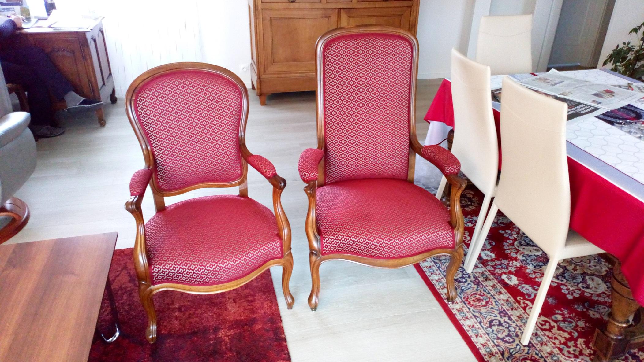 fauteuil Voltaire & Fauteuil restauration