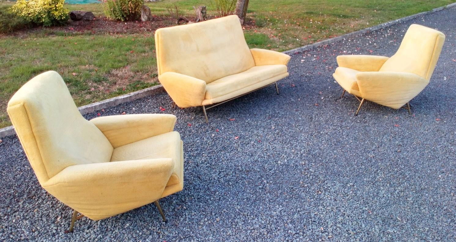 canapé et fauteuils de Guy Besnard