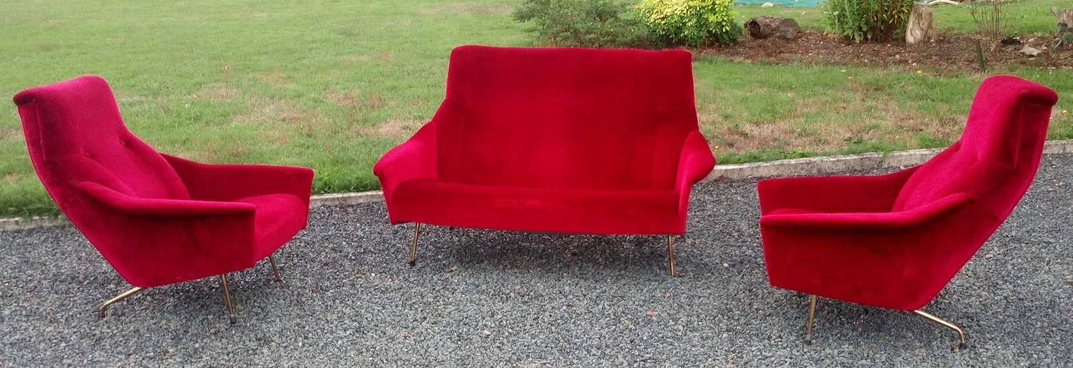 canapé & fauteuils de Guy Besnard