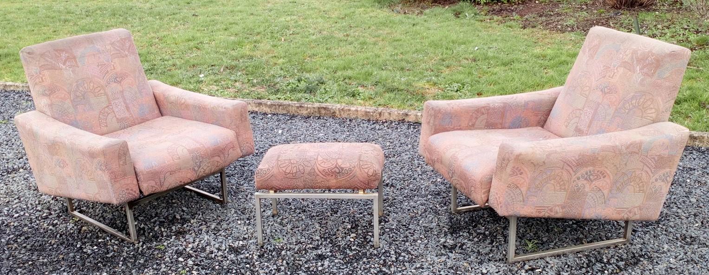 paire de fauteuils Jean rené Caillette