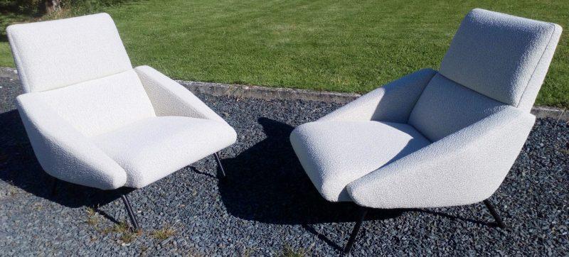 paire de fauteuils GUERMONPREZ