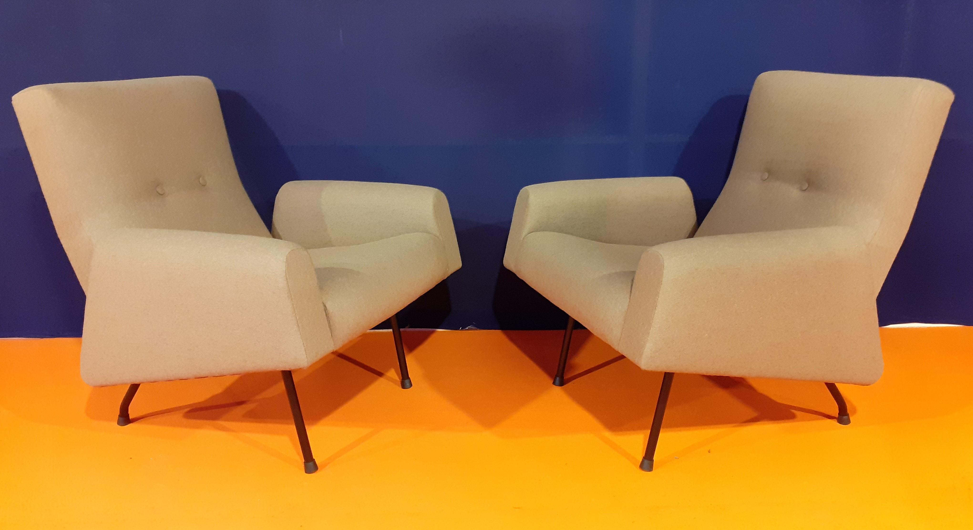 paire de fauteuils Louis Paolozzi
